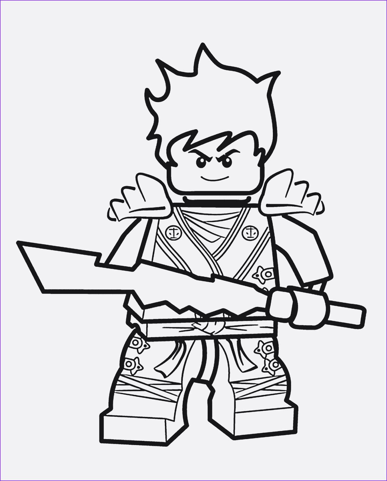 Ausmalbilder Lego Ninjago Lego