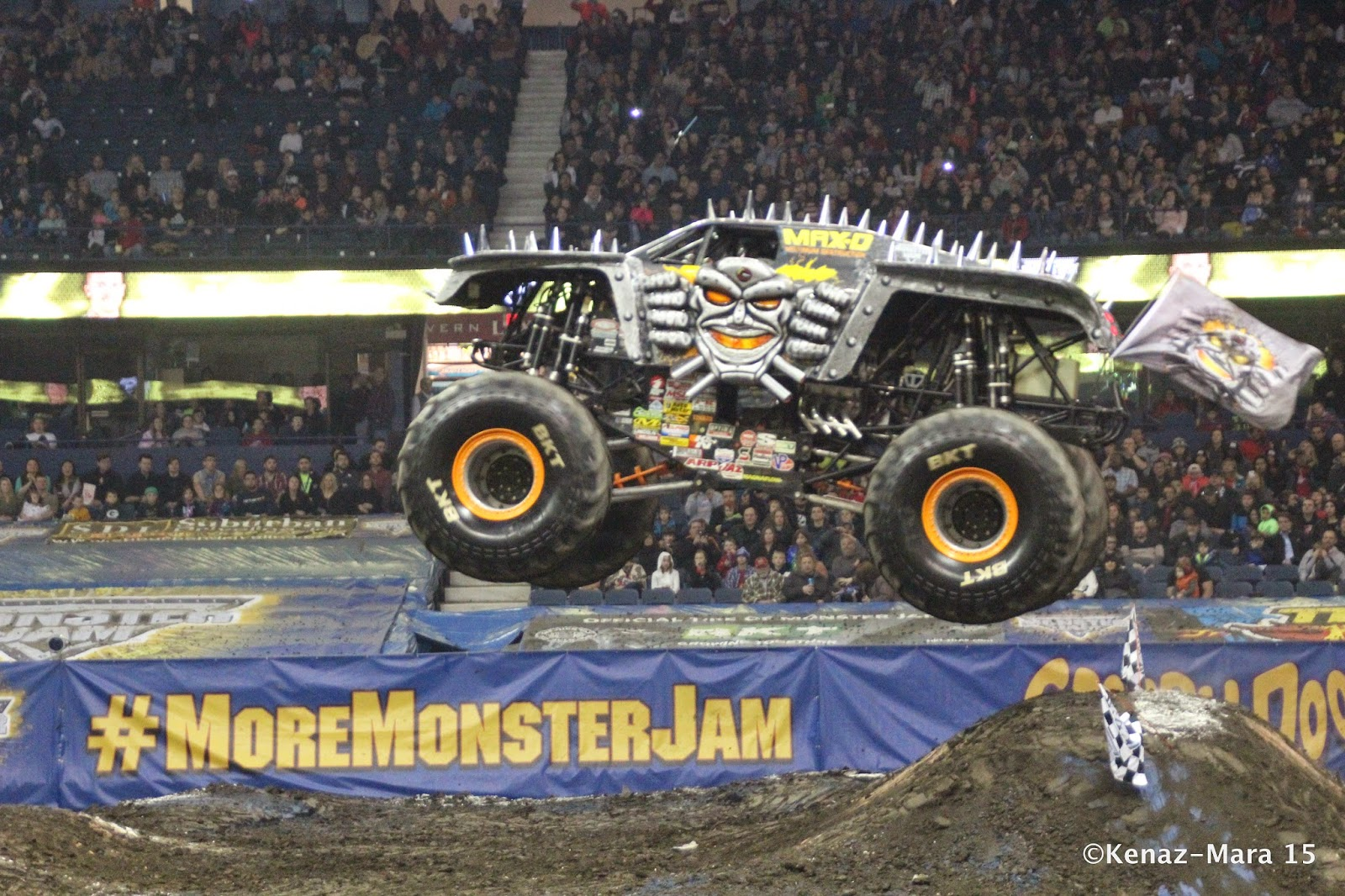 WIN 4 Monster Jam Tickets for Fri 2/12