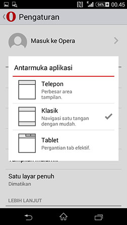 opera mini we browser apk terbaru