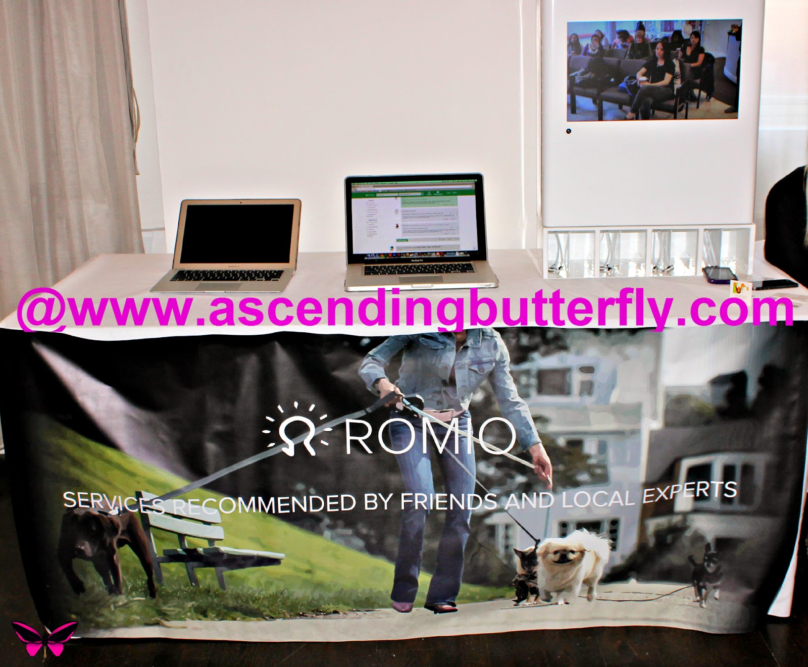 Romio Booth Display at Getting Gorgeous 2014