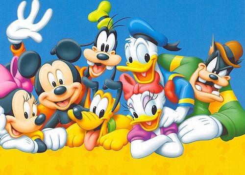 Los personajes más conocidos de Disney, reunidos en una sola web