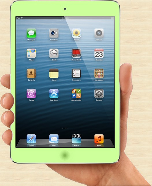 iPad mini new Green Colors