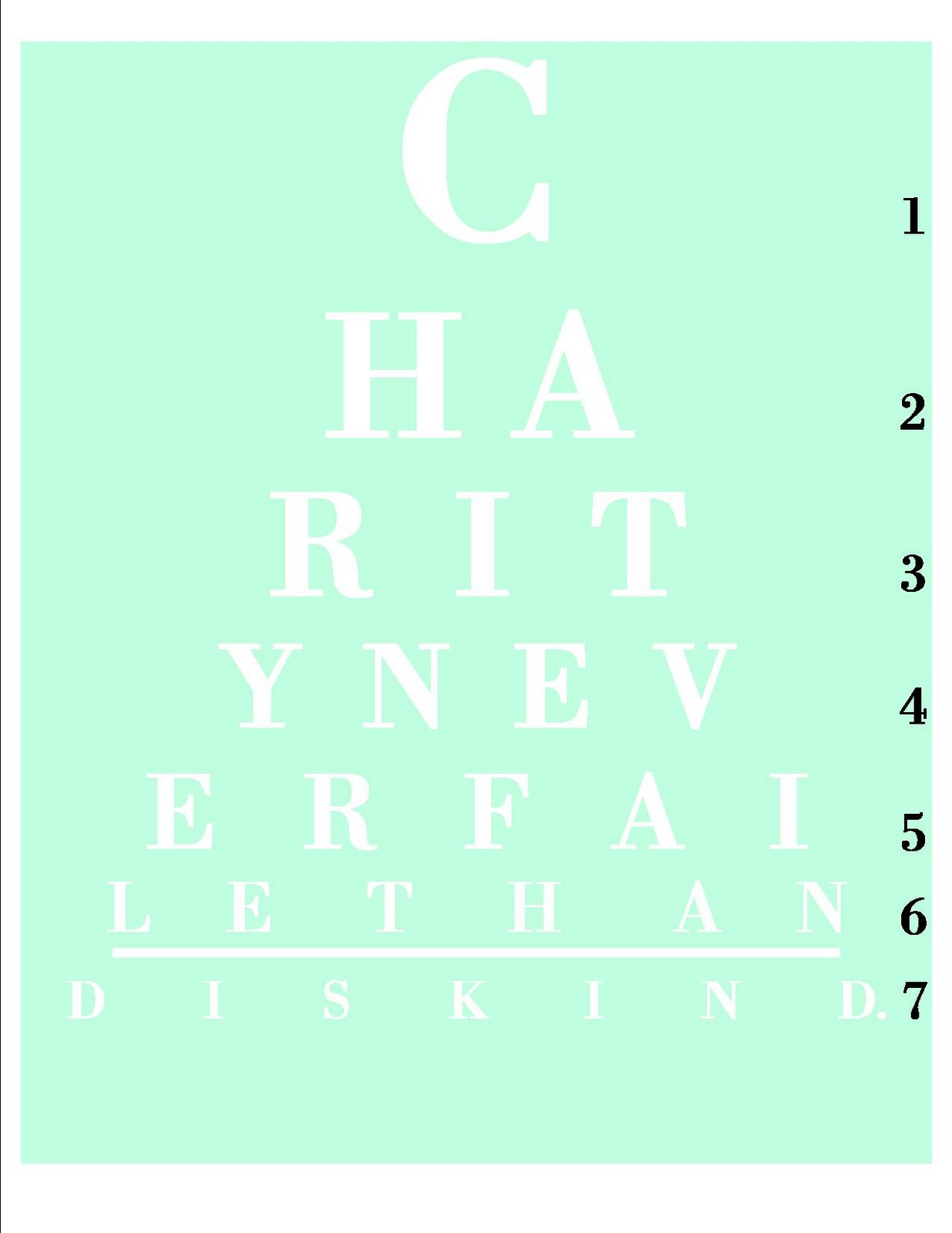 It's just a photo of Persnickety Handheld Snellen Chart Printable