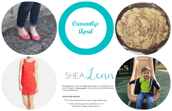 Currently wearing, baking, wish-listing, writing and exploring | www.shealennon.com