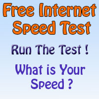 Free Broadband Speed Test