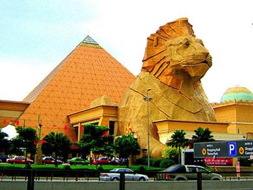 how to go sunway pyramid from kl sentral