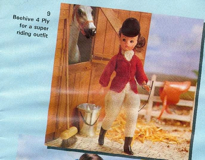 Herbies Doll Sewing Knitting Crochet Pattern Collection Patons