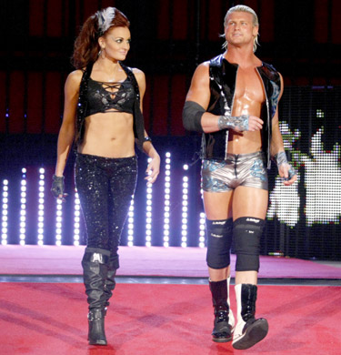 Dolph Ziggler with Maria