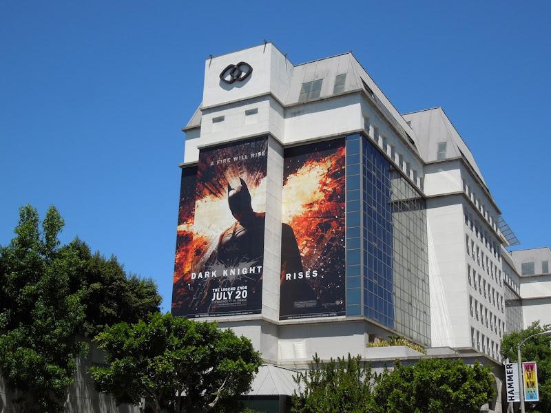 Giant Dark Knight Rises billboard