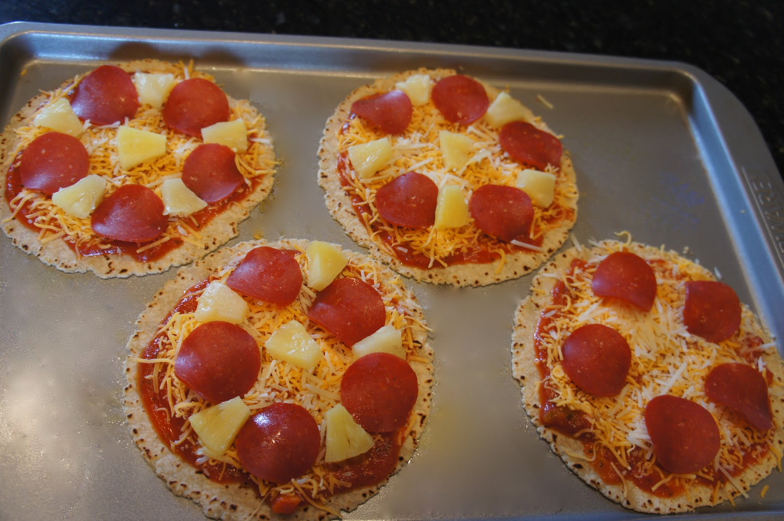 Simple Kitchen With Missy Maki corn tortilla mini pizzas | mrs. maki cooks~the simple kitchen