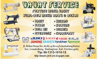 Jual-Beli Mesin Jahit Cirebon
