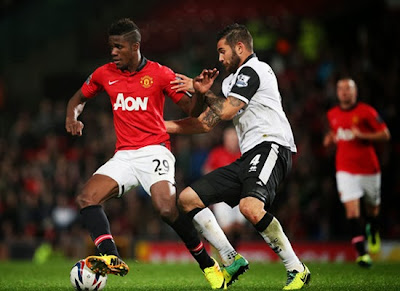 Wilfried Zaha Manchester United Winger 20132014