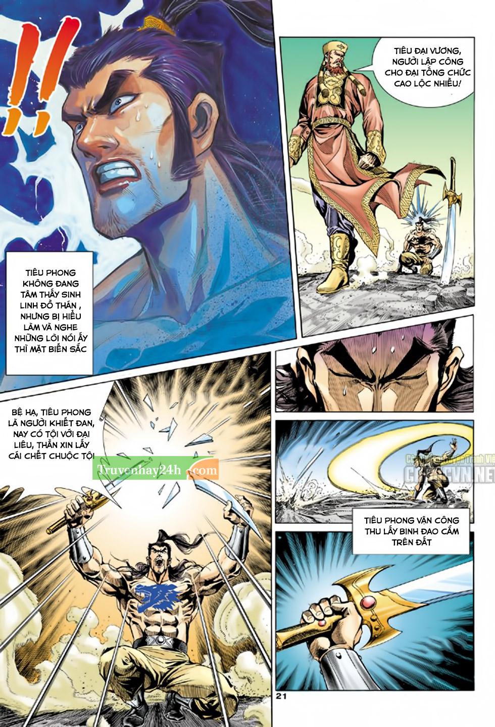 Thiên Long Bát Bộ chap 100 - Trang 22