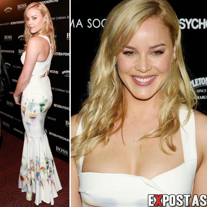 Abbie Cornish: Seven Psychopaths screening em New York - 10 de Outubro de 2012