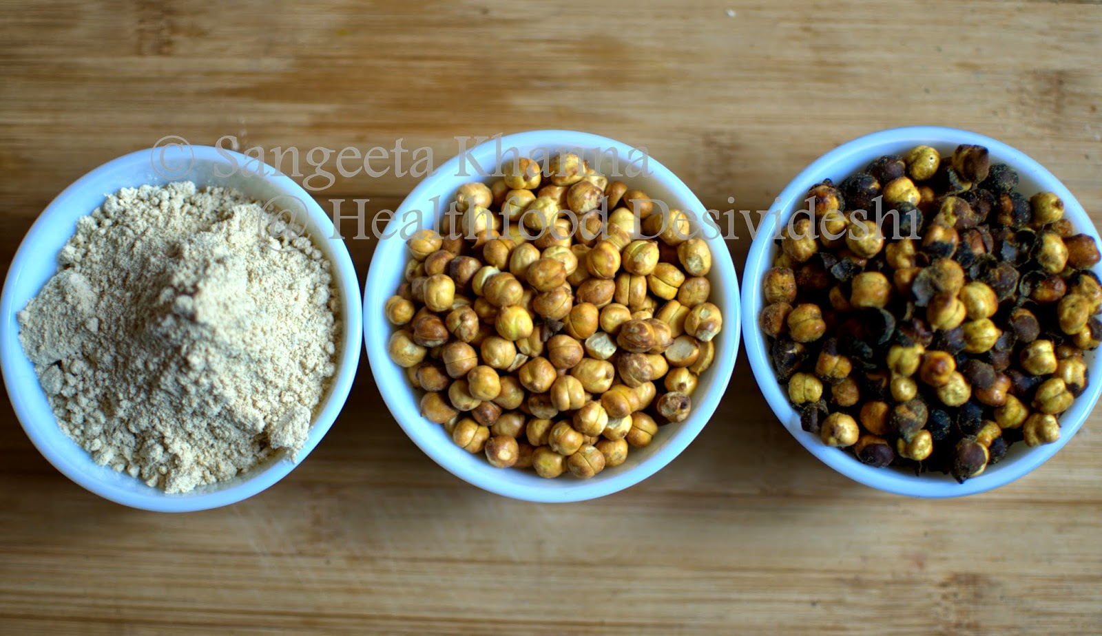 sattu or roasted chickpea flour