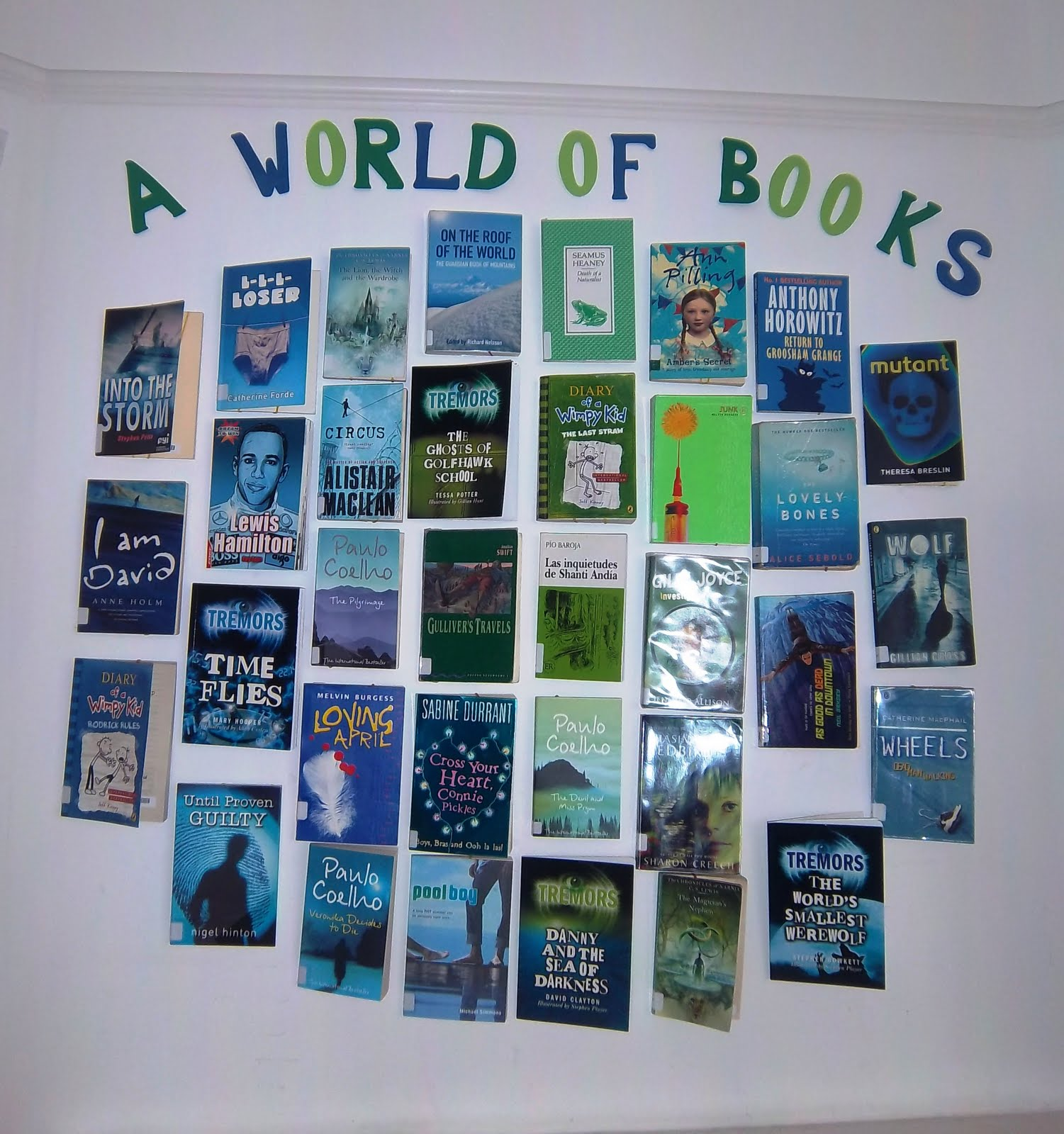 Library Displays A World Of Books