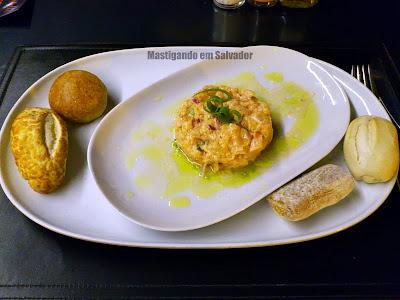 Restaurante Montello Gourmet: Tartar de Salmão