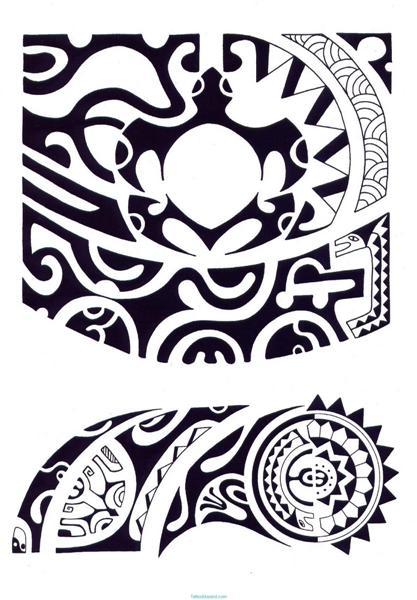 Tatuajes maories Maories
