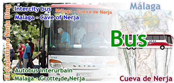 Autobús Málaga-Nerja-Cuevas, información de horarios y tarifa de precios