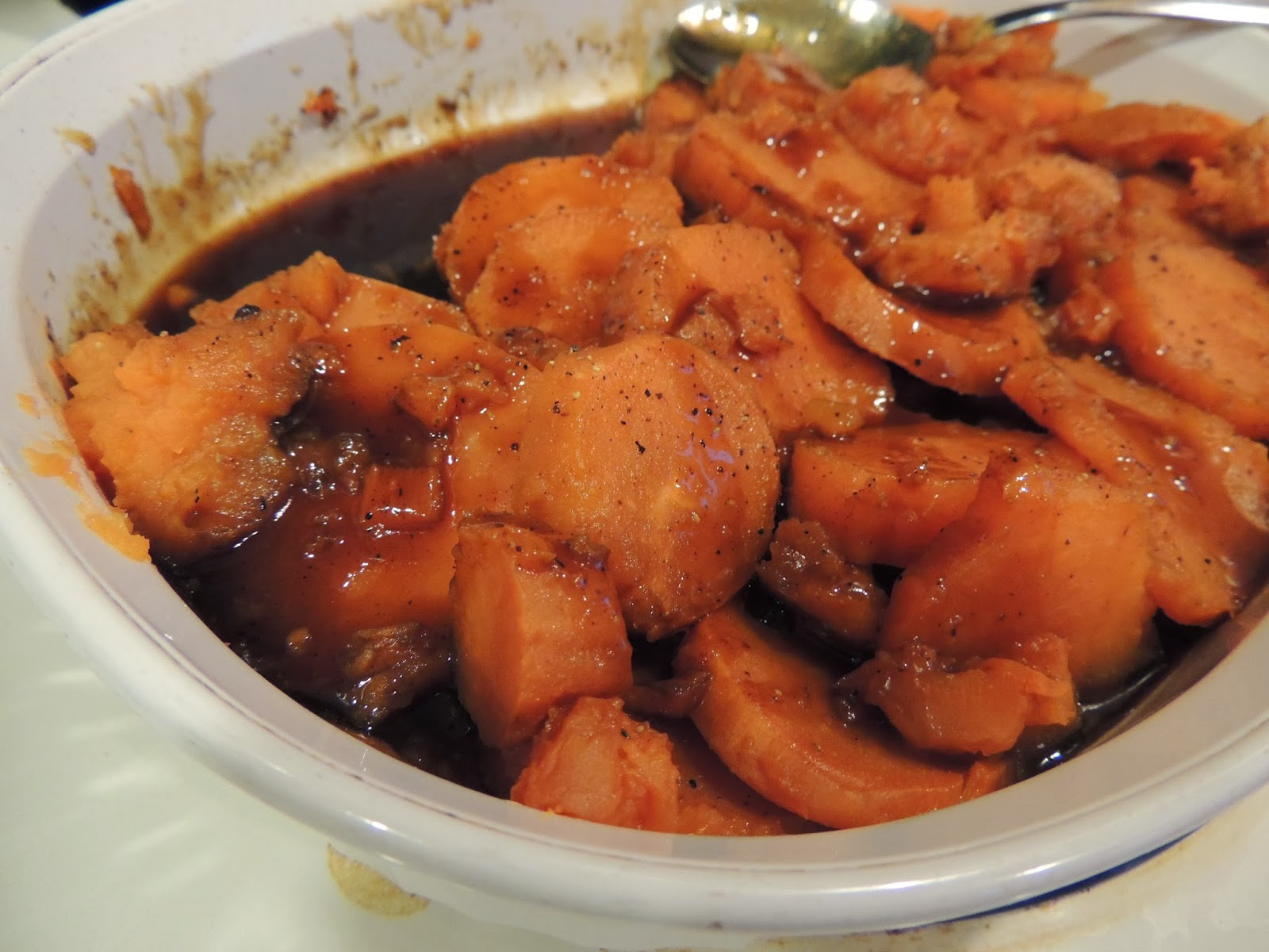 ... Rochester Recipe Queen!: Sweet Potatoes with Bourbon Molasses Glaze