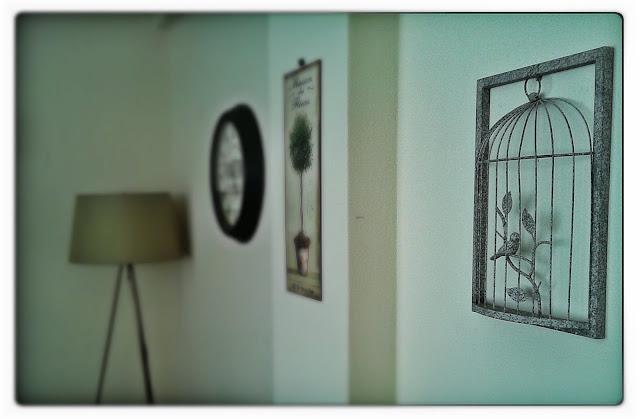 dekoratif kuş kafesi, duvar  panosu