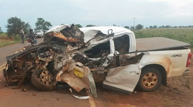 Trágico acidente na Br. 158 próximo a Ribeirão Cascalheira mata motorista