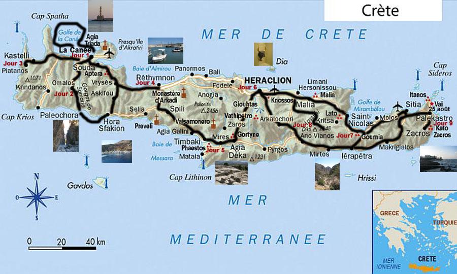 Regards culturels: Le tour de la Crète en 10 jours