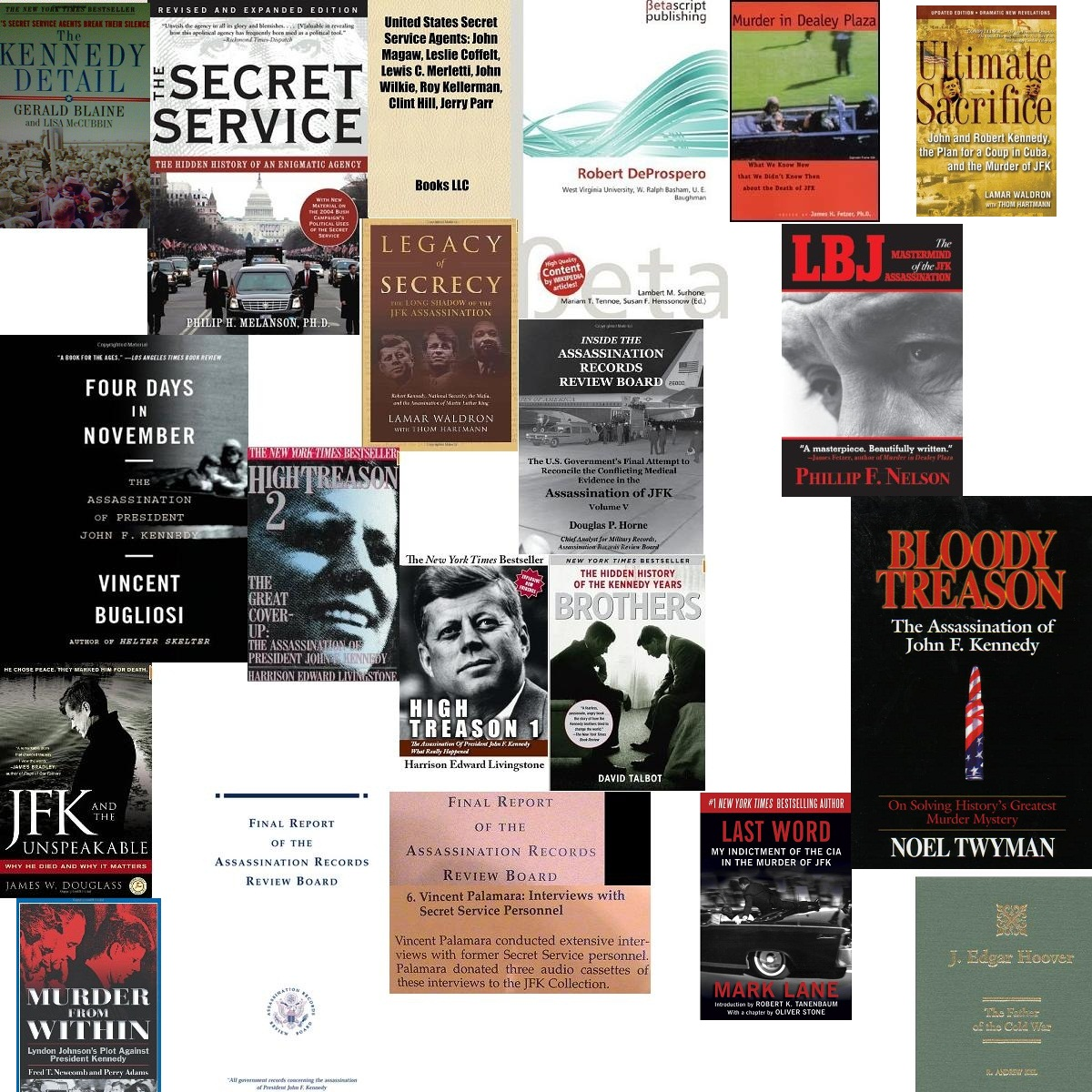 VINCE PALAMARA- JUST SOME OF THE MANY BOOKS I AM IN