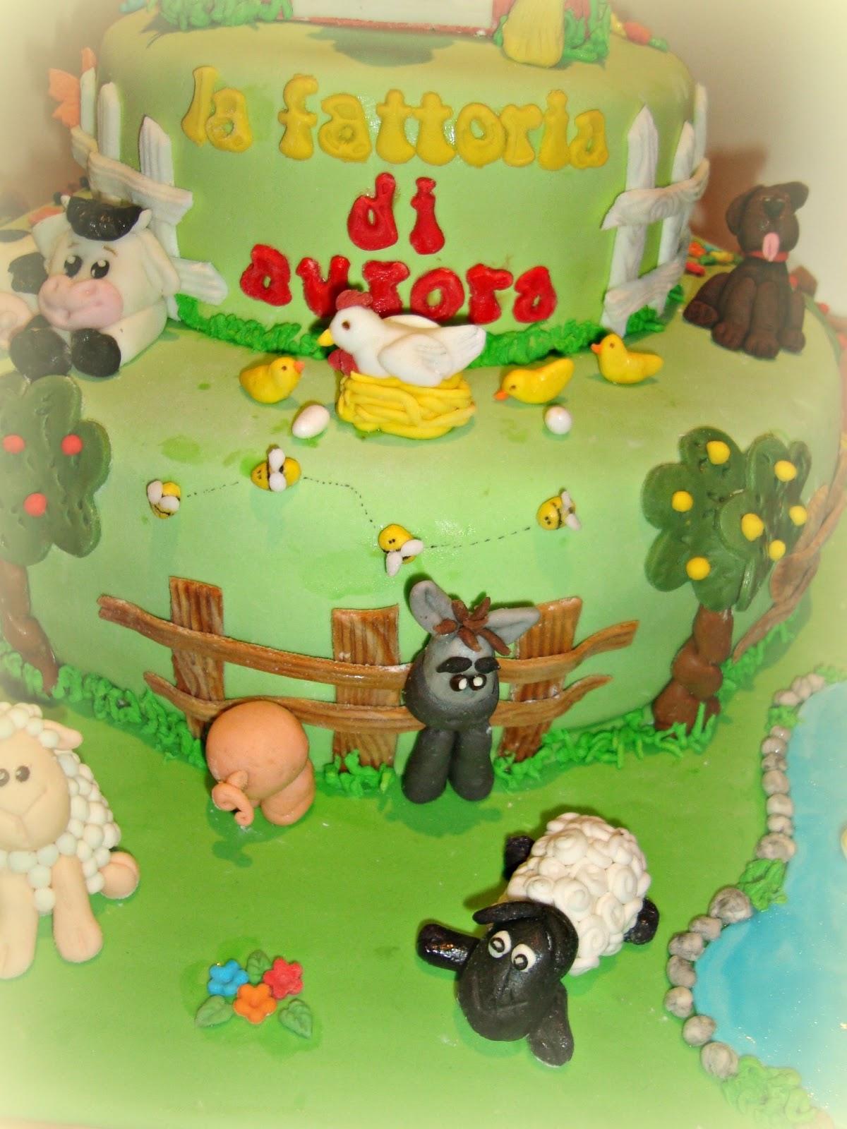 Le torte decorate torta fattoria for Aprire piani di fattoria