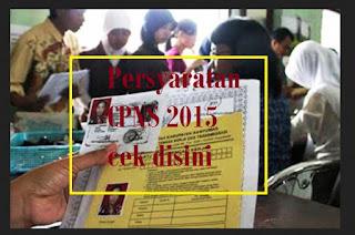 persyaratan cpns 2015
