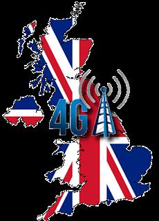 4G 3 Three Hutchison UK