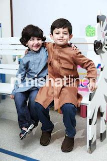 Nisha Naqash 2013 kidz Collection by Nishat linen