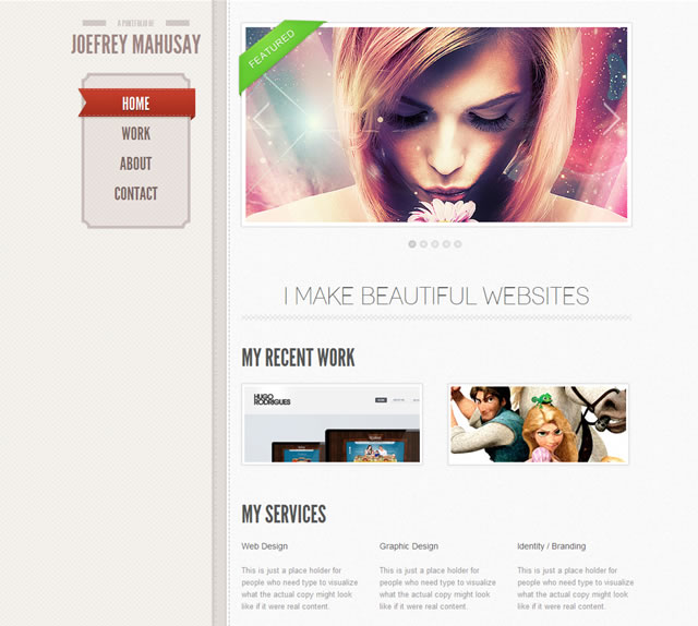 Awesome HTML5 Template and Generator
