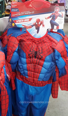 Have your kid be Spiderman for Halloween and help protect New York City from evil