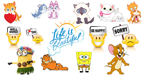 New Stickers For Facebook Symbols Emoticons