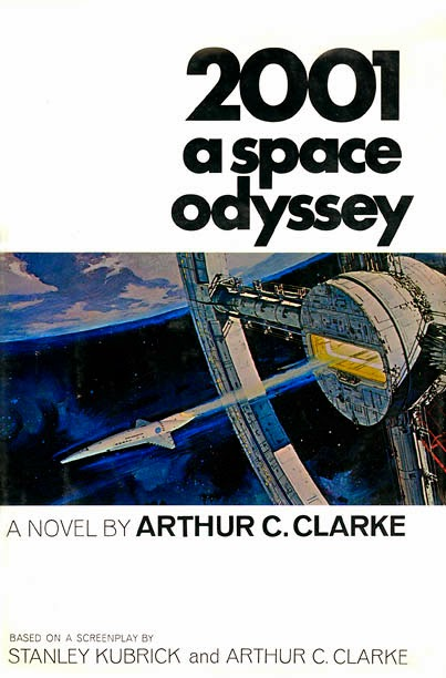 the influences of arthur clarke in a space odyssey