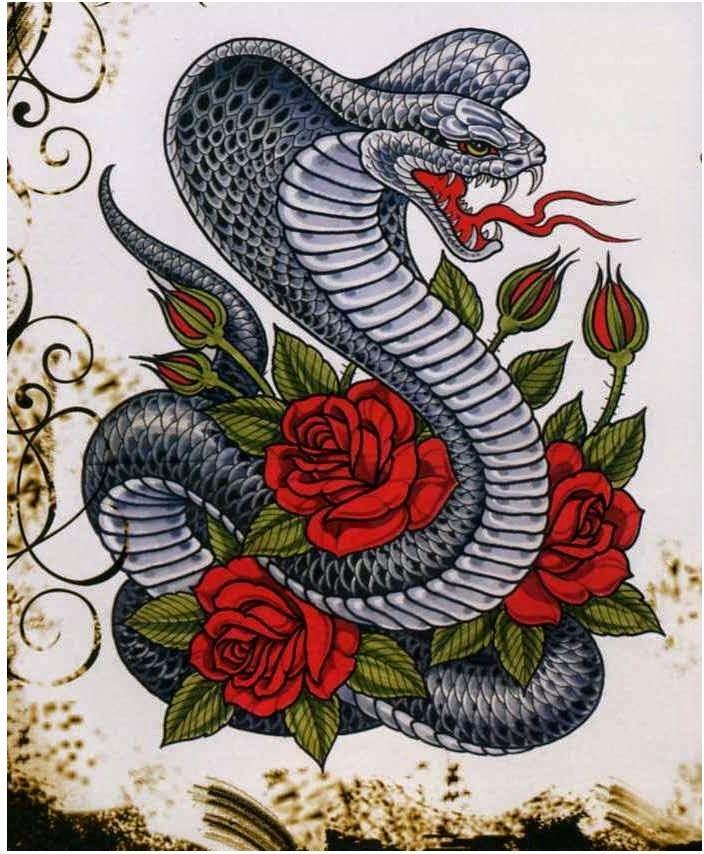 Forasteiro Tattoo Tattoo Serpente: Accademia Gilmont Italia: Giugno 2014