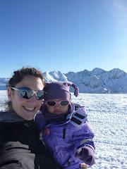 Les meves nenes a la neu, primera sortida 2011