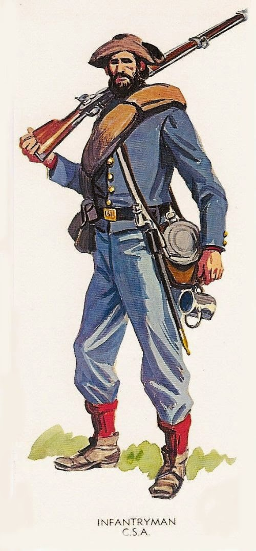 Confederate Infantry man picture 1