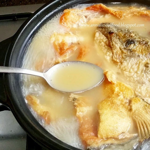 Annielicious food salmon fish bone tofu soup forumfinder Image collections