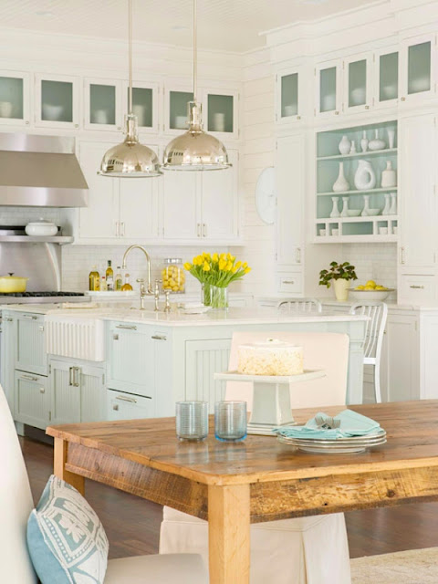Traditional-Coastal-Style -Kitchen