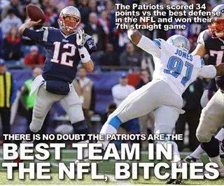 the patriots scored 34 points vs the best defense in the nfl