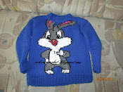 bluza tricotata copii disney