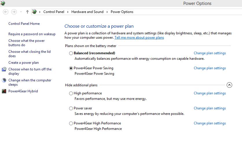 merawat baterai laptop atur power plan