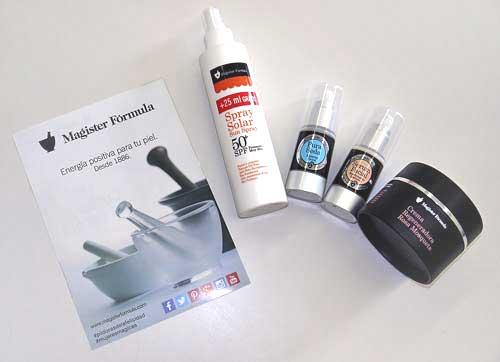 productos cosmeticos de farmacia magister formula