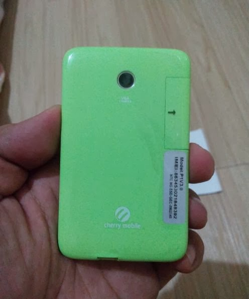 Cherry Mobile P1 Back