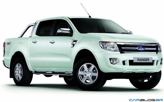 Nova Ford Ranger 2013 XLT Limited 3.2 Diesel - branca