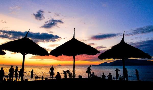 Ngắm bình minh ở Nha Trang