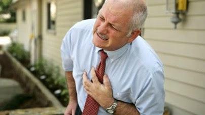 Sesak dada sebagai gejala serangan jantung