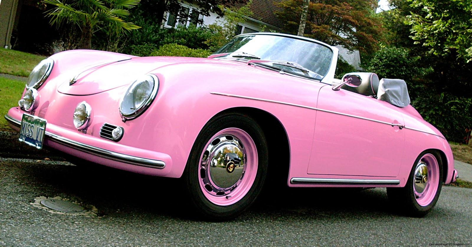 Hot Pink Porsche Cars
